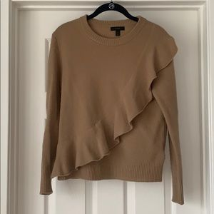 J.Crew Ruffle Sweater